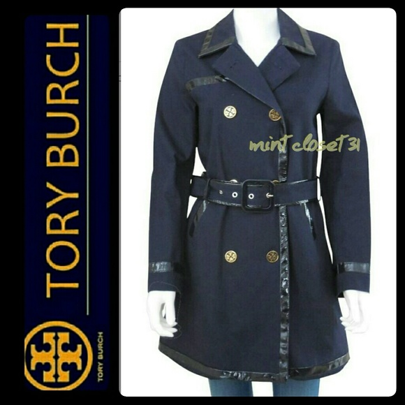 Tory Burch Double-Breasted Trench Coat